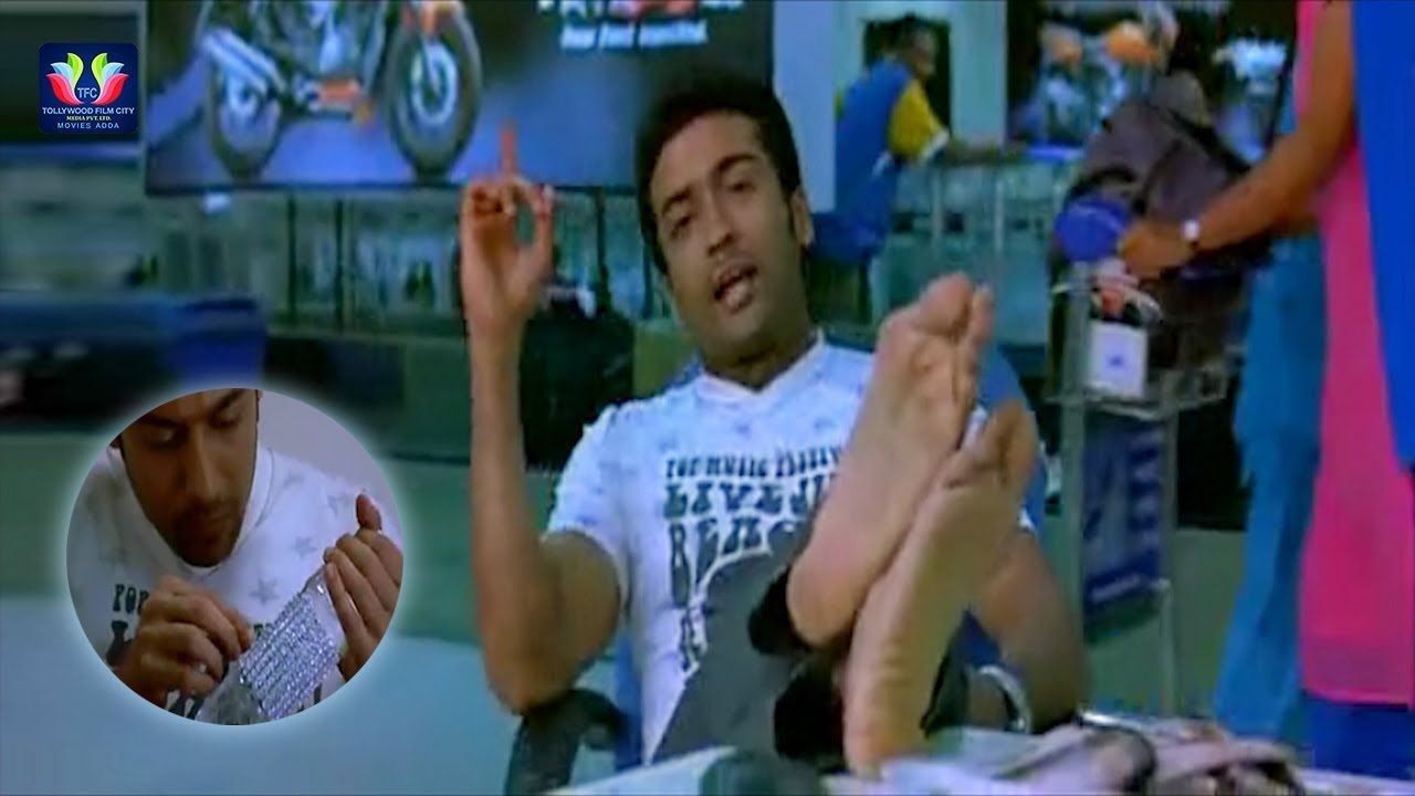 Download Suriya Airport Scene Veedokkade Movie || Latest Telugu Movie Scenes || TFC Movies Adda