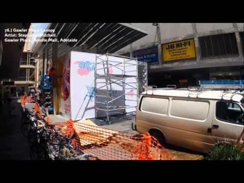 Adelaide Fringe Street Art Explosion