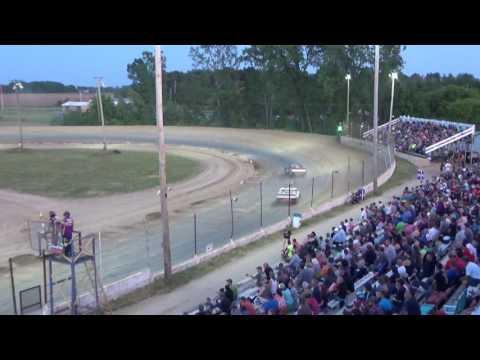 15. Pro Truck Heat Race #2 at Crystal Motor Speedway, Michigan on 06-10-17.