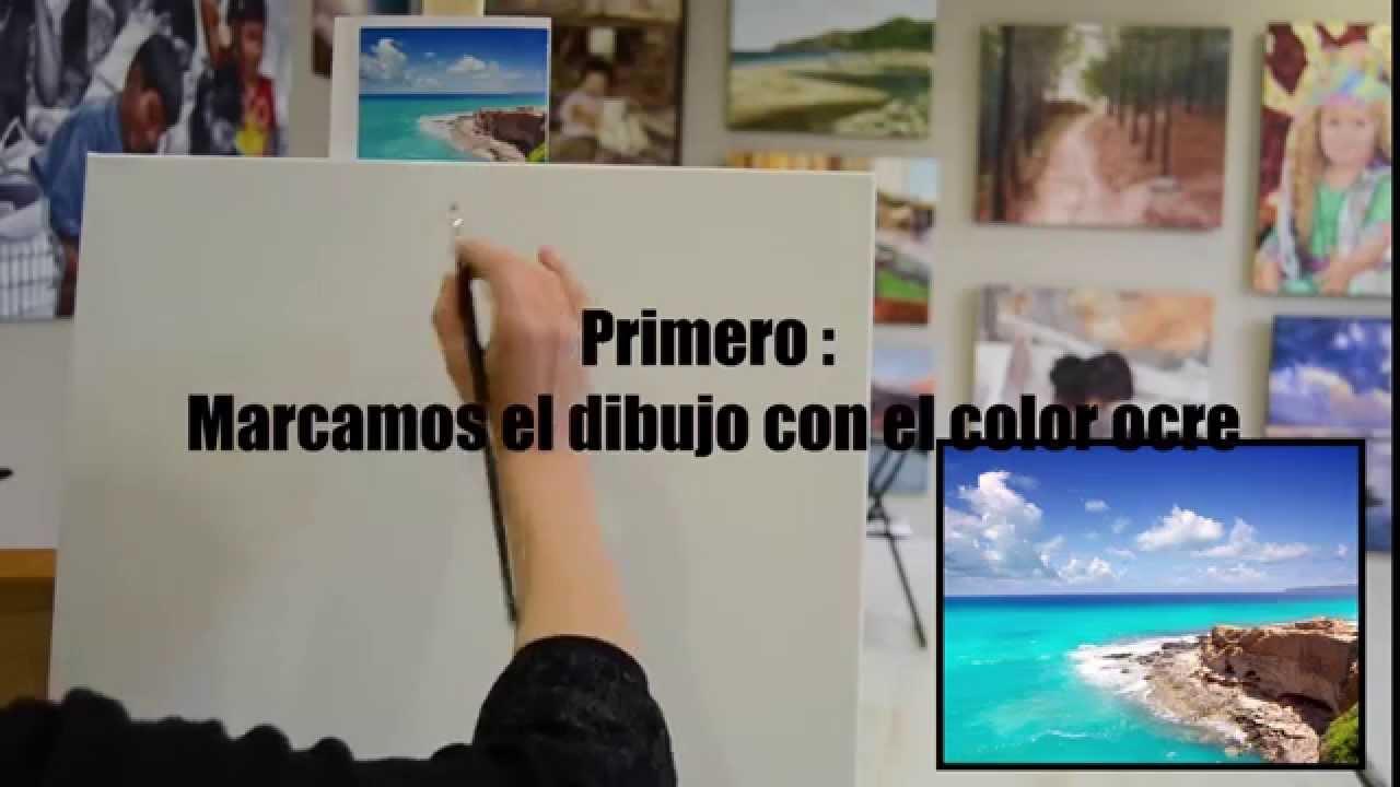 Pintar al leo paisajes paso a paso con di carvalho - Como pintar al oleo paso a paso ...