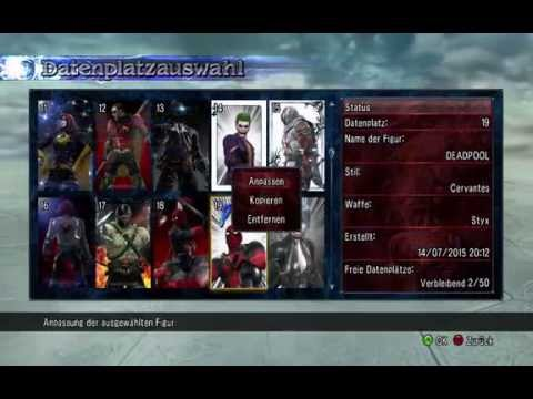 Soul Calibur V character creation showcase 1
