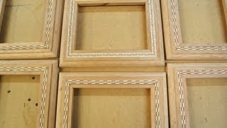 Woodworking - How To Install Designs In Wood Inlay Banding - Methods & Skills Tutorial
