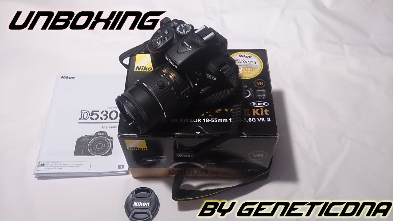 Harga Jual Great Condition Nikon D5300 Bundle With Af S Dx 18 55mm Kit Vr P Unboxing 55 By Geneticdna Youtube