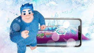 De dibujos animados de helado de Mi Yeti en realidad Aumentada (AR)