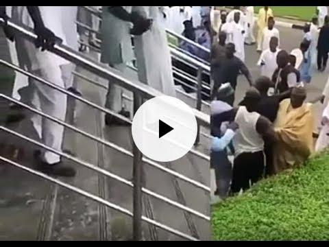 Zamfara: An ba hammata iska tsakanin magoya bayan APC da PDP a harabar kotun koli (bidiyo)