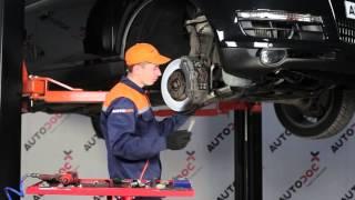 Montáž predné vpravo Vzpera stabilizátora AUDI Q7: video príručky