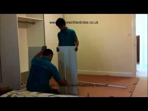 Making of IKEA Pax Sliding Door Wardrobes