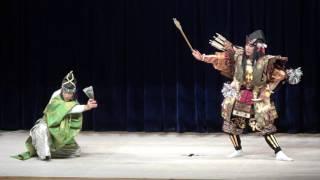第41回陰陽神楽競演大会 宮乃木神楽団 (新羅三郎)新舞