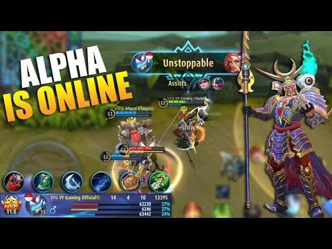 Alpha Hero Kuat yang Terlupakan   Onimusha Commander Skin Gameplay dan Build - Mobile Legends