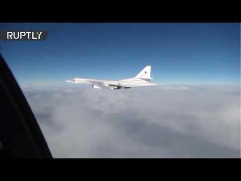 """Reino Unido difunde imágenes de cómo """"intercepta"""" a dos bombarderos rusos"""