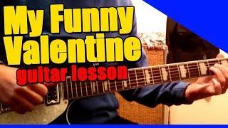My Funny Valentine : Guitar Lesson