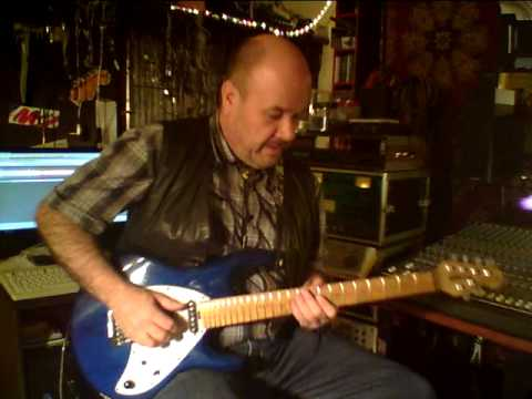 "Ralf Junker Guitar Lesson Solo  ""Mystery Train Style"" U.a. Elvis Presley"