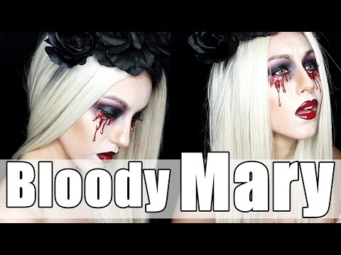 BLOODY MARY|| Lady Gaga inspired HALLOWEEN MakeUp.|| GotyMakeUp3