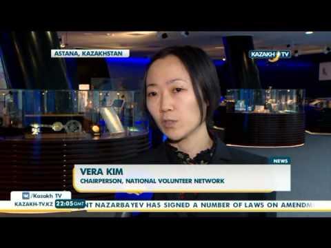 Draft law on volunteer activities discussed in Kazakhstan - Kazakh TV