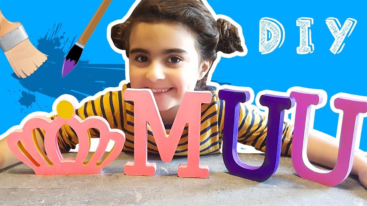 Kraliçe Tacı Ve Ahşap Boyama Sanat Köşesi çocuk Videosu