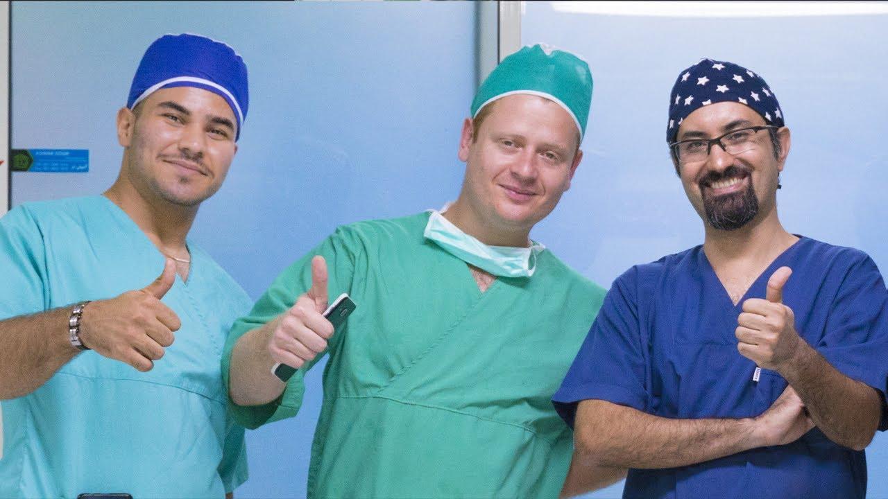 تعريف دكتور علي اكبر صادقي وعرض صور قبل وبعد عملية تجميل الأنف للدكتور