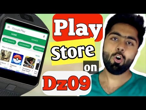 Dz09 Play Store || How To Use Play Store On Smart Watch|| Smart Watch Play Store| AlirazaTV