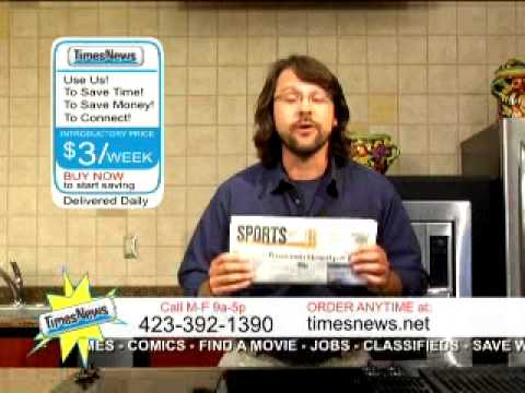 Kingsport Times News Circulation Commercial Sports