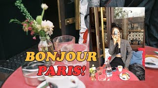 Bonjour Paris ♥︎ GRWM + 밀크티 메이…