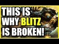 (HIGH ELO) THIS IS WHY BLITZCRANK SUPPORT IS INSANELY OP! #1 SUPPORT IN SEASON 10! BLITZCRANK GUIDE