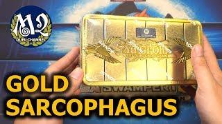 Mở hộp vàng tìm vị thần Ai Cập trong Gold Sarcophagus Yugioh Mega Tin 2019  M2DA  Hongdux