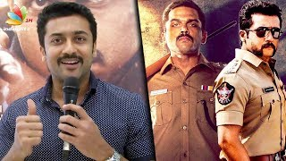 Of all the cop films we've done, this is UNIQUE : Surya Speech on Theeran Adhigaram Ondru
