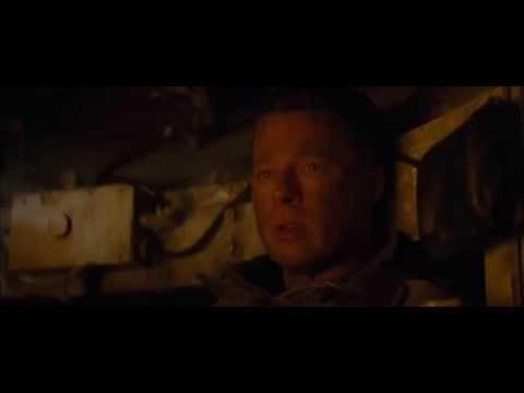 Fury,Brad Pitt Death Scene