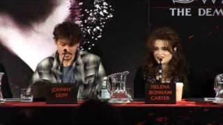 Sweeney Todd interview-London