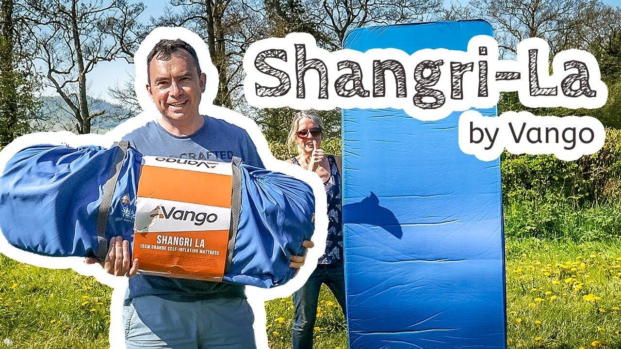 video Vango Shangri-La 15 Grande Self-Inflating Mat (that works!)