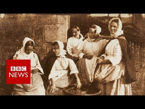 See some of the world's earliest photographs - BBC News