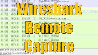 Wireshark Remote WinPcap Capture