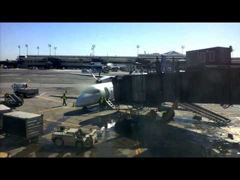 United Express Dash 8 Q400 Engine Shut Down