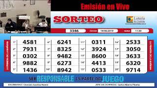 Sorteo de Quiniela :1ra de la Mañana Nº 3346 - 14/08/19 - 11:30hs