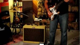 Fender Blues Deluxe Reissue Amp Demo