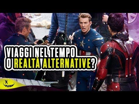 Avengers 4 si Viaggia Tra le Realtà Alternative?