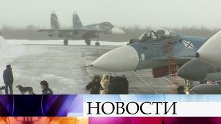 Авиагруппа Северного флота вернулась изСирии нааэродром вСевероморске.