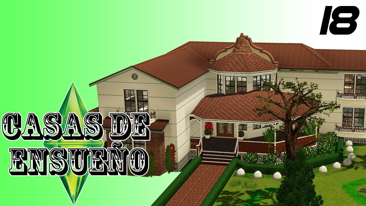 Casas de ensue o casa 18 serie sims 3 descarga youtube for Casa moderna los sims 3