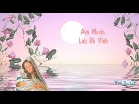 Nhạc thánh ca | Ave Maria - Lưu Bá Vĩnh  [ Sub Kara - Effect ]