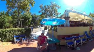 Piscina - Camping Mugello Verde a San Piero a Sieve, Firenze, in Toscana - Video 360