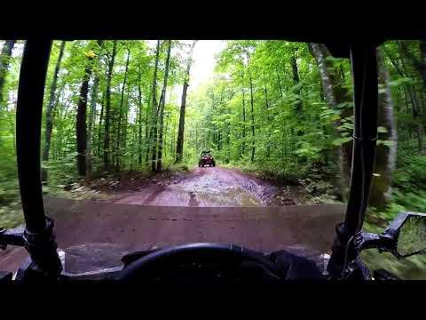Trail #6 Overlook Iron Horse to Intersection 236 Iron County Wisconsin ATV UTV Polaris Ace 900 XC