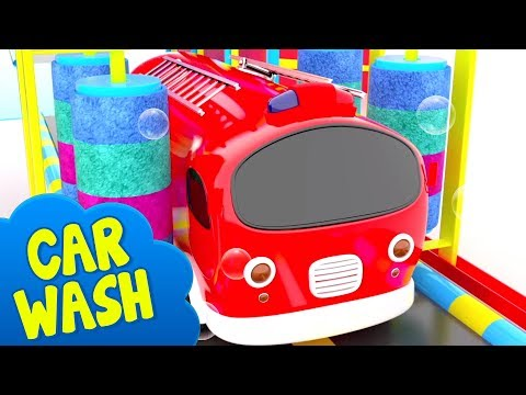 car-wash-for-kids-|-learn-colors-&-street-vehicle-names-by-little-treehouse