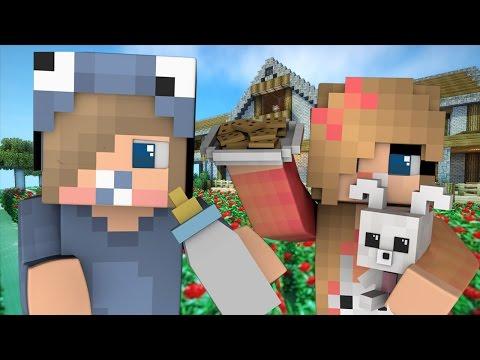Minecraft Daycare Side Stories - HUBERT'S FIRST CRUSH! (Minecraft Roleplay)