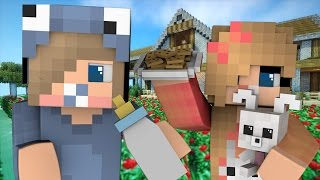 Minecraft Daycare Side Stories - HUBERT'S FIRST CRUSH! (Minecraft Roleplay) thumbnail