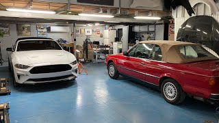 BMW e30 cabrio   pdr   real time