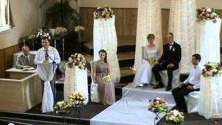 Свадьба Андрея и Ольги часть 1