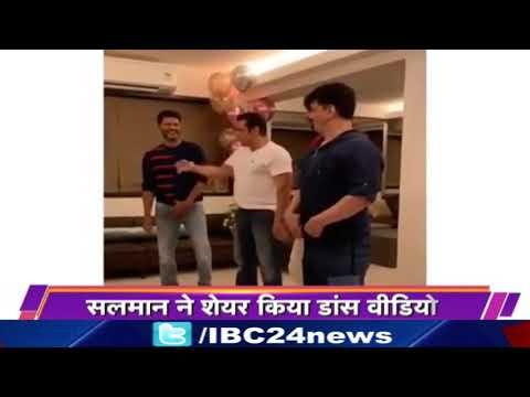 Salman Khan Dancing With Prabhu Deva, Kiccha Sudeep & Sajid, Dancing to Urvashi Song Mp3