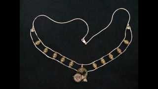 Electronic LED necklace (random mode)