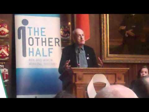 Alan O'Neill  The Other Half White Ribbon Launch