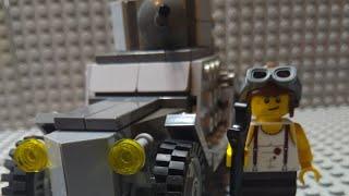 Лего броньовий автомобіль БА-27 ''Лего військові саморобки''