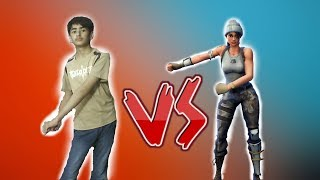 Fortnite Dances In Real Life! Challenge (Jubilation, Salt Bae, Take The L etc)
